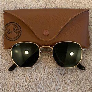 Ray-Ban Sunglasses HEXAGONAL FLAT LENSES